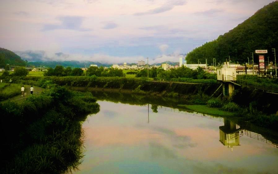 鏡川河川敷