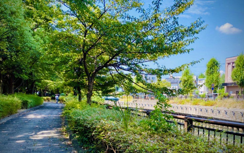 名城公園内の様子