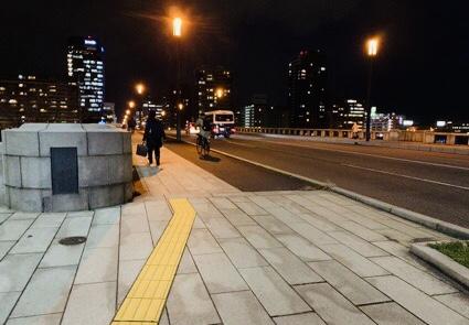 新潟市中の様子